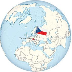 Tschechien Globe