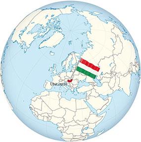Ungarn Globe