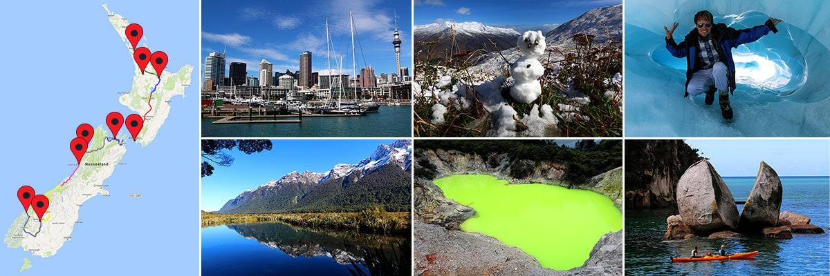 Reiseberichte Neuseeland-Inseln