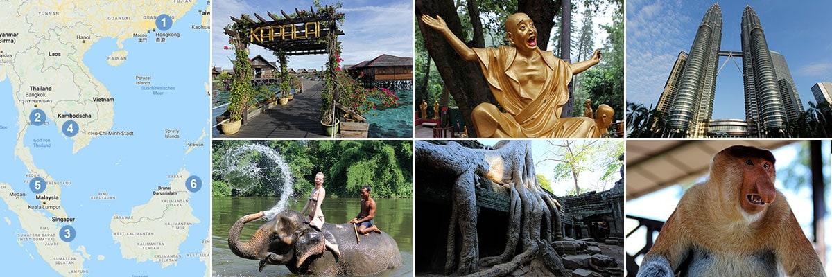 Reiseberichte Südostasien