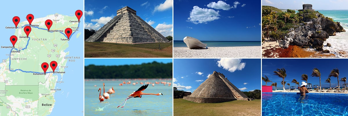 Reiseberichte Yucatan Mexiko